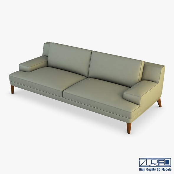 Roche Bobois Playlist Large 3 Seat Sofa - 3DOcean Item for Sale