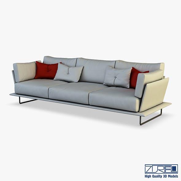 Vessel sofa v 2 - 3DOcean Item for Sale