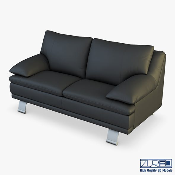 U118 sofa v 2 179cm - 3DOcean Item for Sale