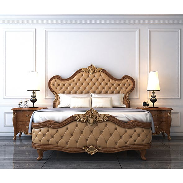 European Style Bed 2