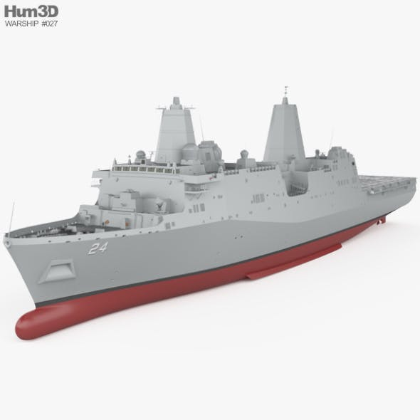 San Antonio-class amphibious transport dock