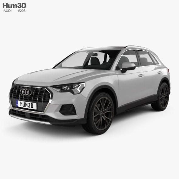 Audi Q3 Advanced 2018 - 3DOcean Item for Sale