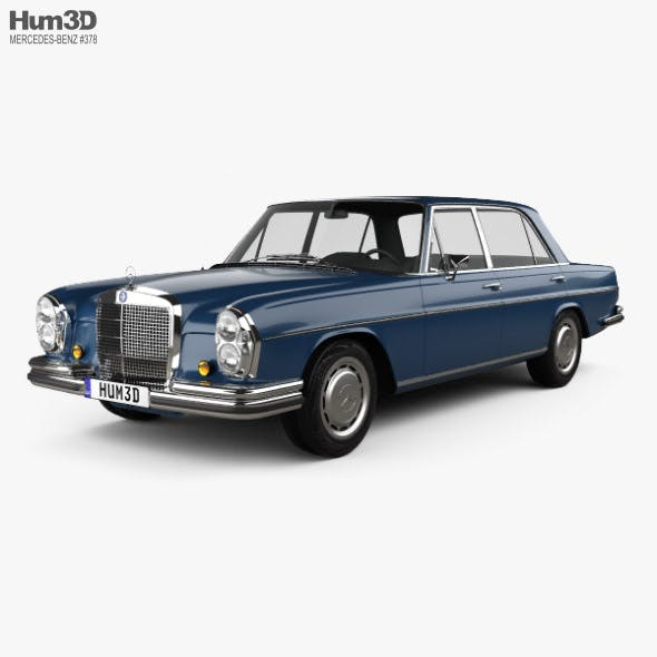 Mercedes-Benz 280 SEL 1972 - 3DOcean Item for Sale