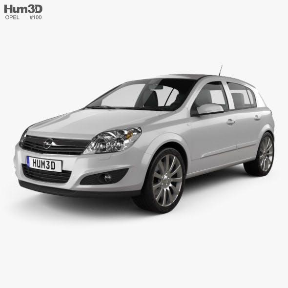 Opel Astra hatchback 2007
