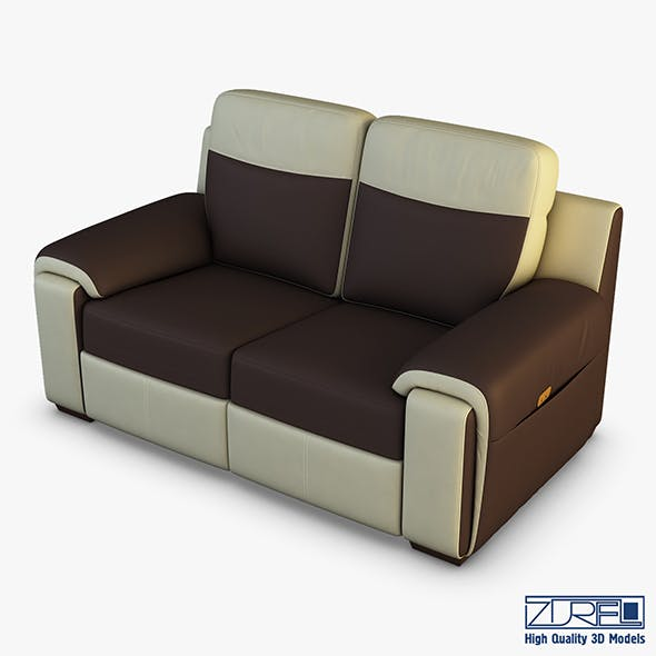 U170 sofa v 2 179cm - 3DOcean Item for Sale