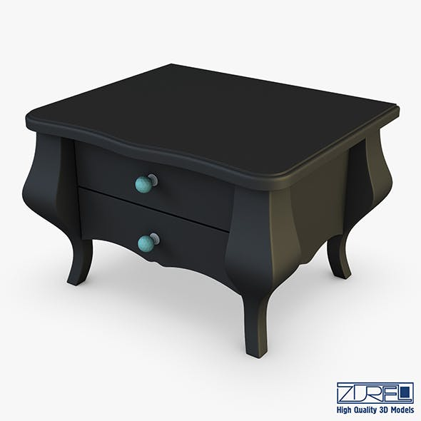 Arron Nightstand - 3DOcean Item for Sale