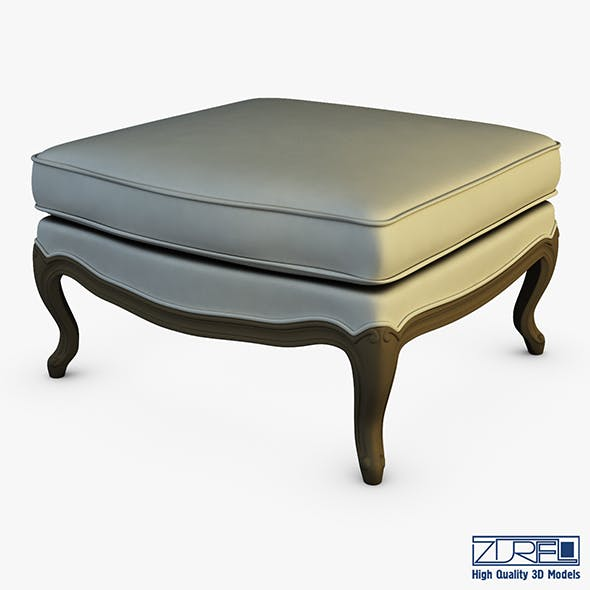 Boka Ottoman - 3DOcean Item for Sale