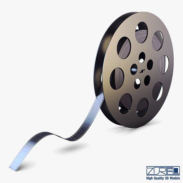 Video Film Reel 35mm v 1 - 3DOcean Item for Sale