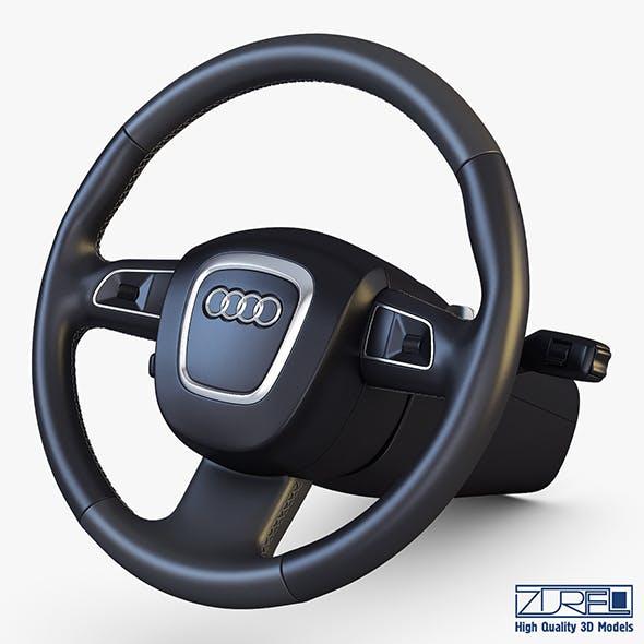 Steering Wheel Audi Q7 Patrick Hellmann - 3DOcean Item for Sale