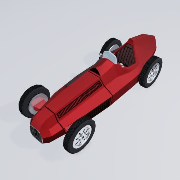 Cartoon Retro Sport Car - 3DOcean Item for Sale