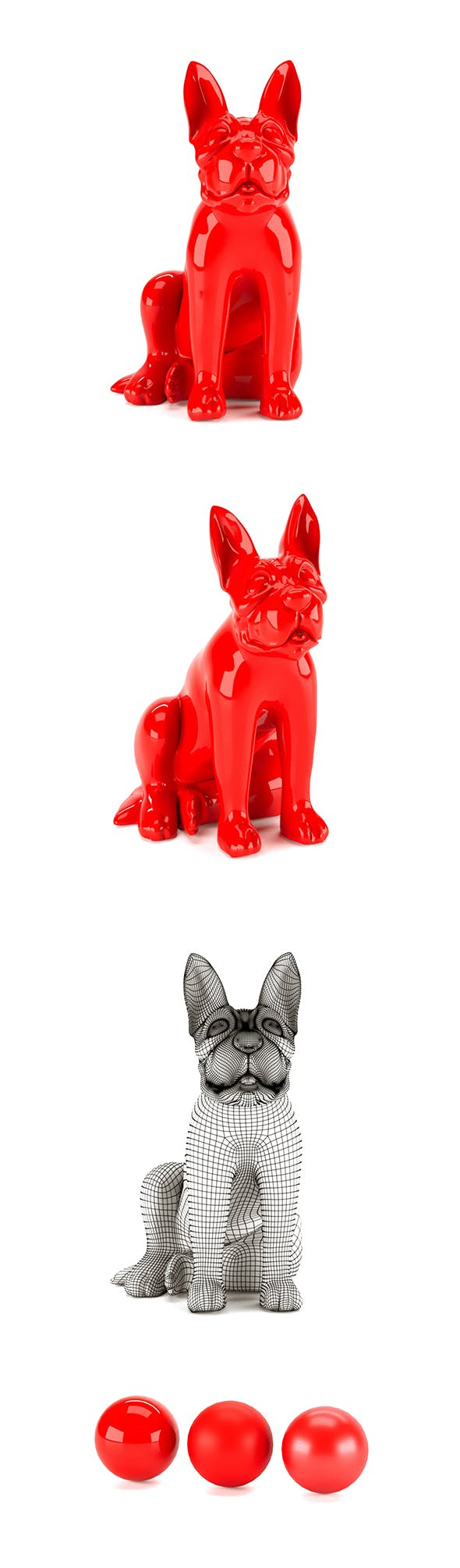 French Bulldog - 3DOcean Item for Sale