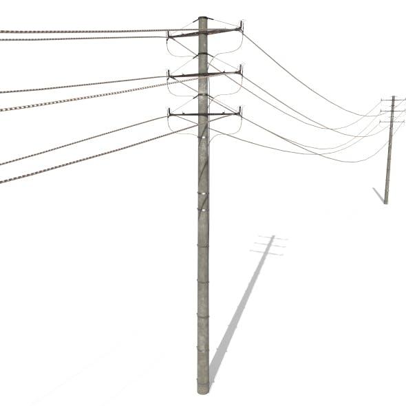 Electricity Pole 18