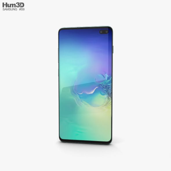 Samsung Galaxy S10 Plus Prism Green - 3DOcean Item for Sale