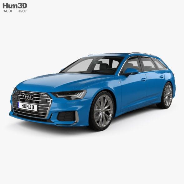 Audi A6 S-Line avant 2018 - 3DOcean Item for Sale