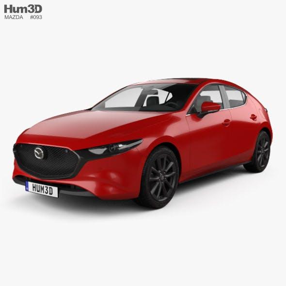 Mazda 3 hatchback 2019