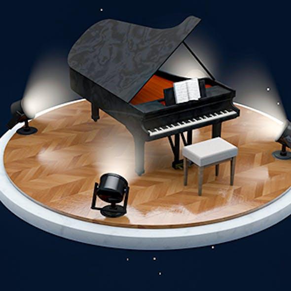PIANO SCANE