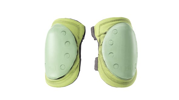 Military khaki elbow pads 06 - 3DOcean Item for Sale