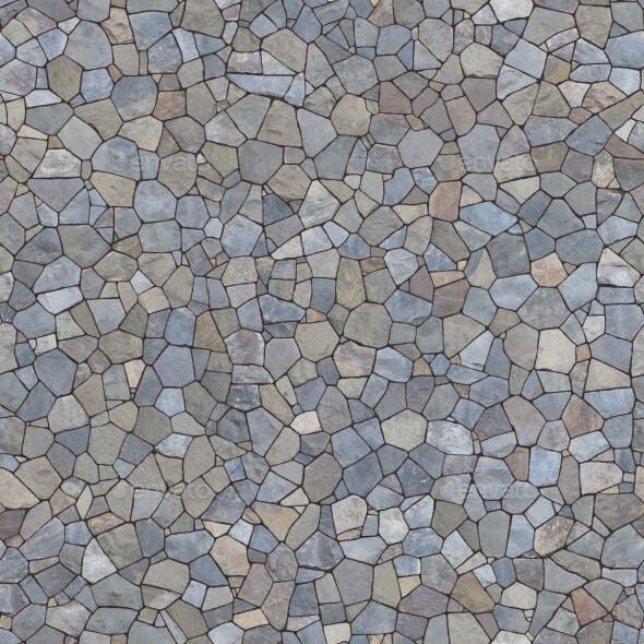 Stone Retaining Wall -1