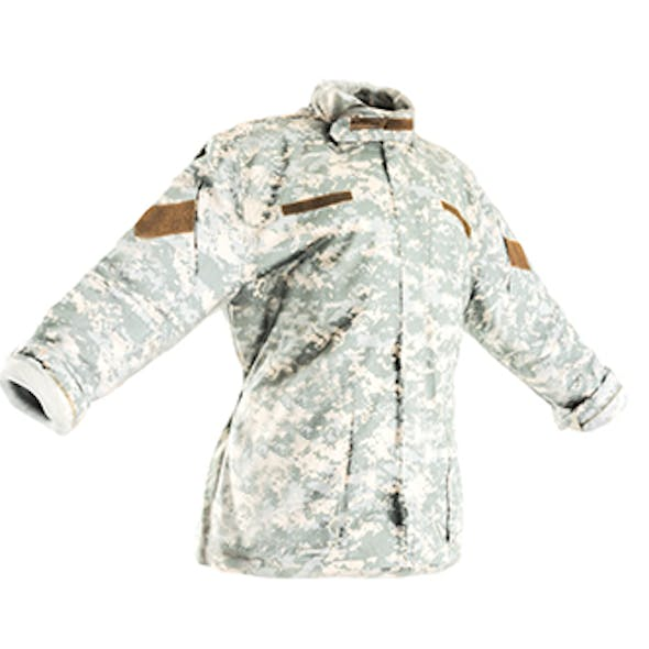 Military ACU jacket with PBR textures 09