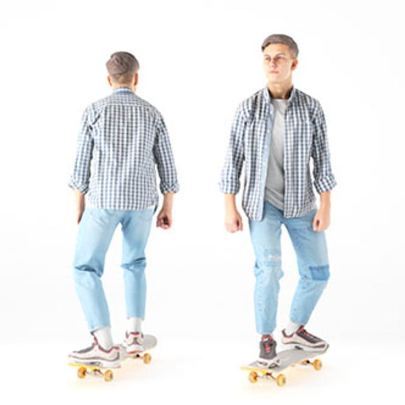 Young man on a skate 19