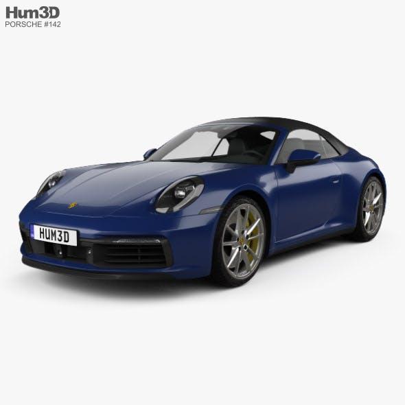 Porsche 911 Carrera 4S cabriolet 2019 - 3DOcean Item for Sale