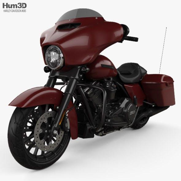 Harley-Davidson Street Glide Special 2018 - 3DOcean Item for Sale