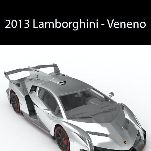 2013 Lamborghini - Veneno