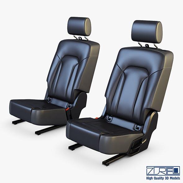 Car Seat Rear - 3DOcean Item for Sale