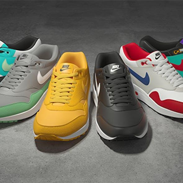Nike Air Max 1 v2 3D model