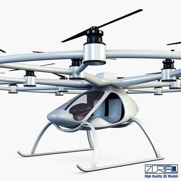 Volocopter VC200 - 3DOcean Item for Sale