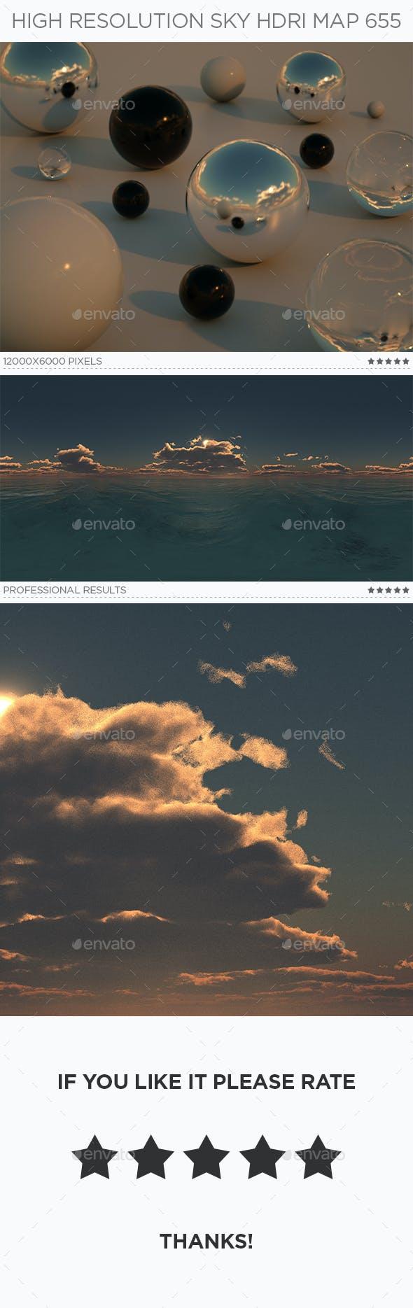 High Resolution Sky HDRi Map 655 - 3DOcean Item for Sale