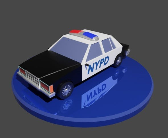 Low poly Classic car - 3DOcean Item for Sale