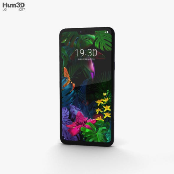 LG G8 ThinQ Aurora Black - 3DOcean Item for Sale
