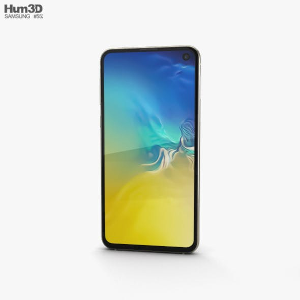 Samsung Galaxy S10e Canary Yellow - 3DOcean Item for Sale
