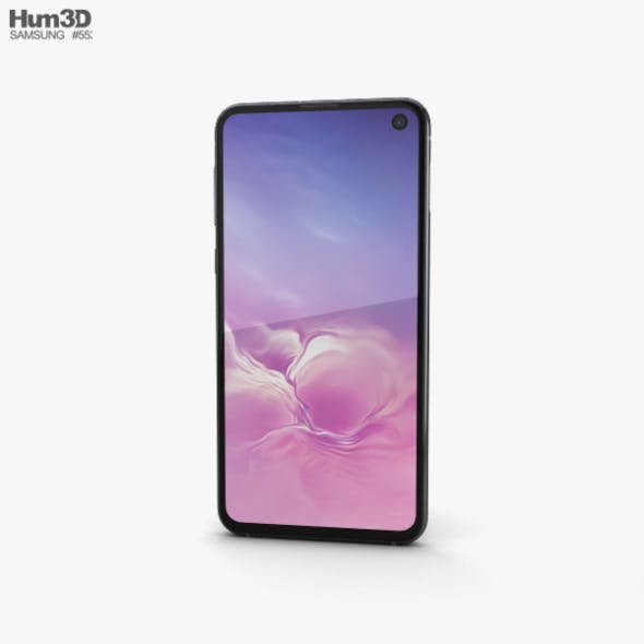Samsung Galaxy S10e Prism Black - 3DOcean Item for Sale