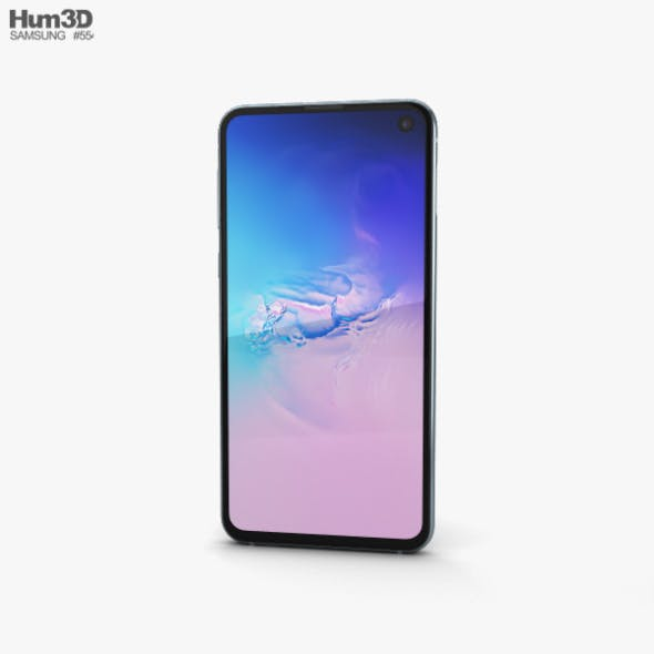 Samsung Galaxy S10e Prism Blue - 3DOcean Item for Sale