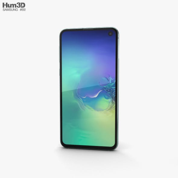 Samsung Galaxy S10e Prism Green - 3DOcean Item for Sale