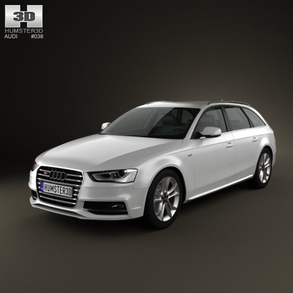 Audi S4 Avant 2013 - 3DOcean Item for Sale