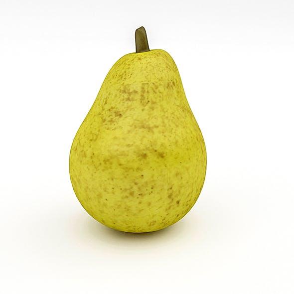 3D Pear Model - 3DOcean Item for Sale