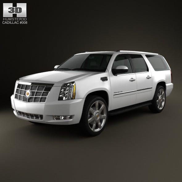 Cadillac Escalade ESV 2011 - 3DOcean Item for Sale