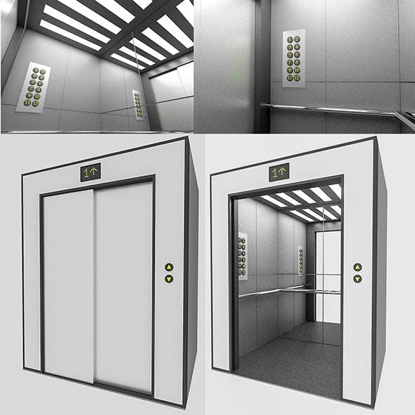 3D Elevator - 3DOcean Item for Sale