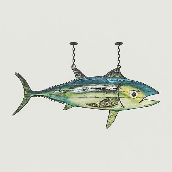 Fish Restaurant Sign 02 - 3DOcean Item for Sale