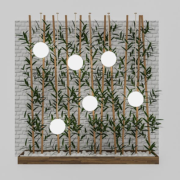 3D Bamboo Decor - 3DOcean Item for Sale