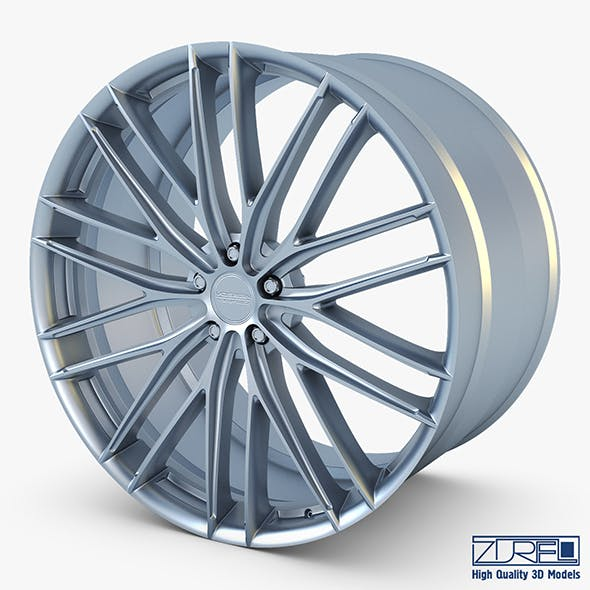 Vossen VFS4 20 wheel silver - 3DOcean Item for Sale