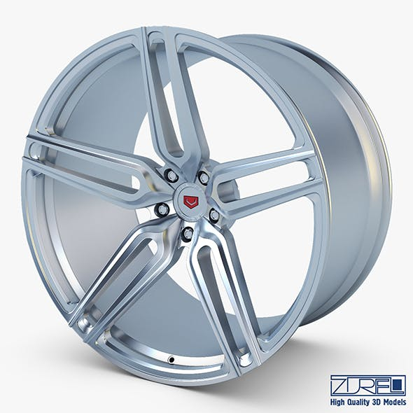 Vossen HC-1 19 wheel silver - 3DOcean Item for Sale