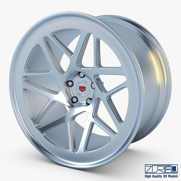 Vossen LC-109T 19 wheel silver - 3DOcean Item for Sale