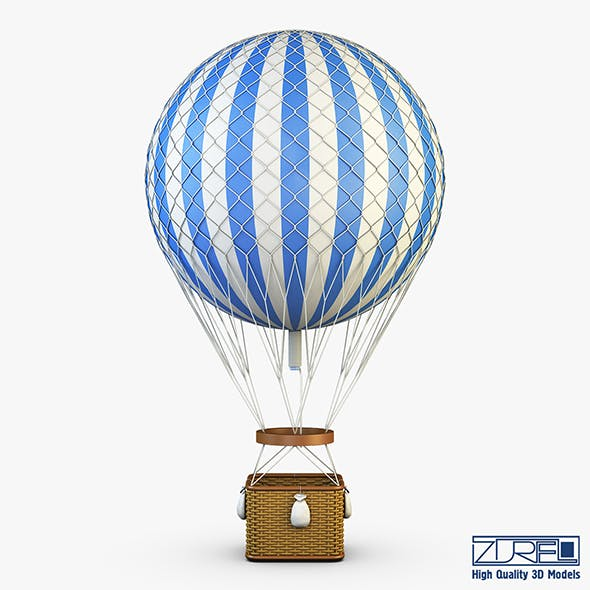 Hot Air Balloon v 2 - 3DOcean Item for Sale