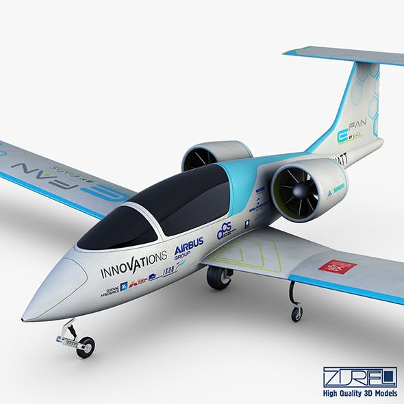 Airbus E-Fan Electric - 3DOcean Item for Sale