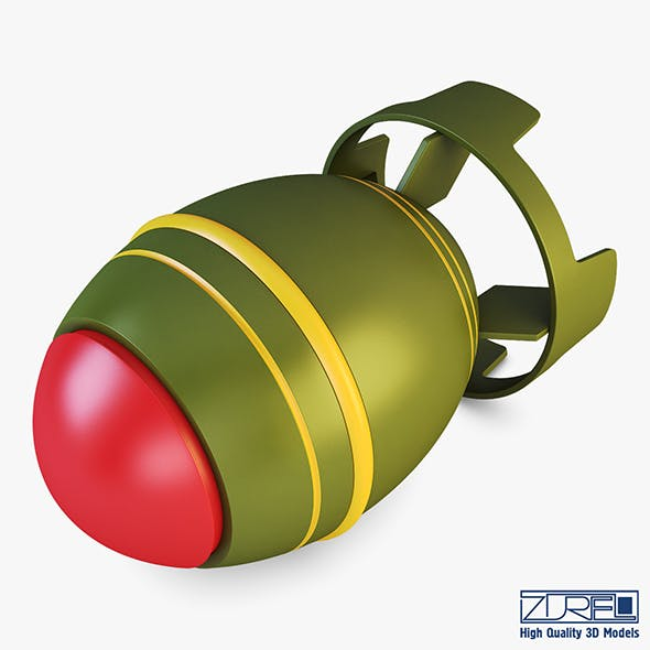 Nuclear bomb v 1 - 3DOcean Item for Sale