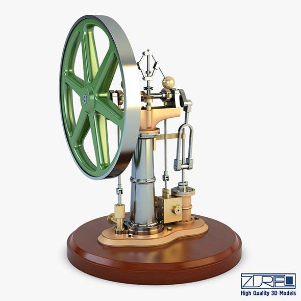 Benson Vertical Engine - 3DOcean Item for Sale
